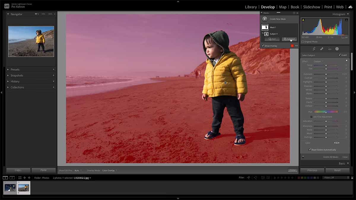 Precise Masking Coming to Lightroom